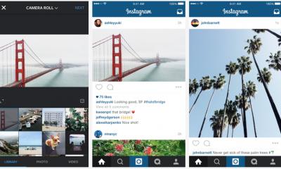 Instagram: arrivano le foto e i video rettangolari