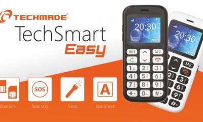TechSmart Easy lo smartphone per tutte le età