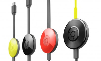 Google Chromecast 2 e Chromecast Audio stream a 360°