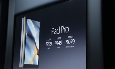 iPad Pro in vendita dall'11 Novembre