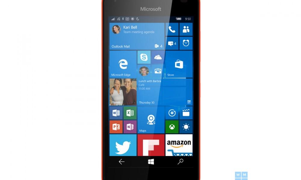 Lumia 550, prime immagini dei telefoni a basso costo con Windows