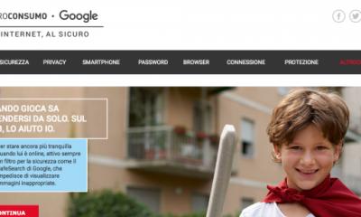 "Google e Altroconsumo lanciano la campagna ""Vivi Internet, al sicuro"""