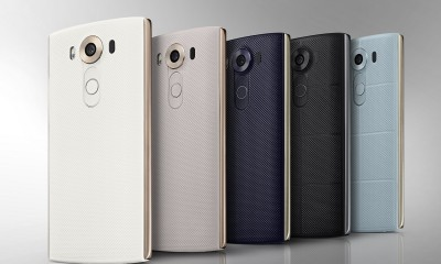 LG V10 raddoppia! due display due fotocamere