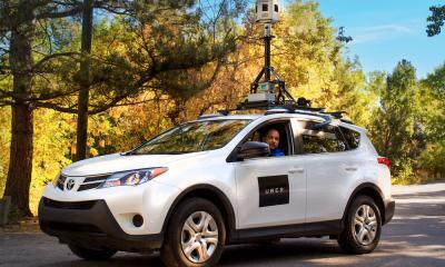 Uber inizia a mappare le strade con macchine proprie