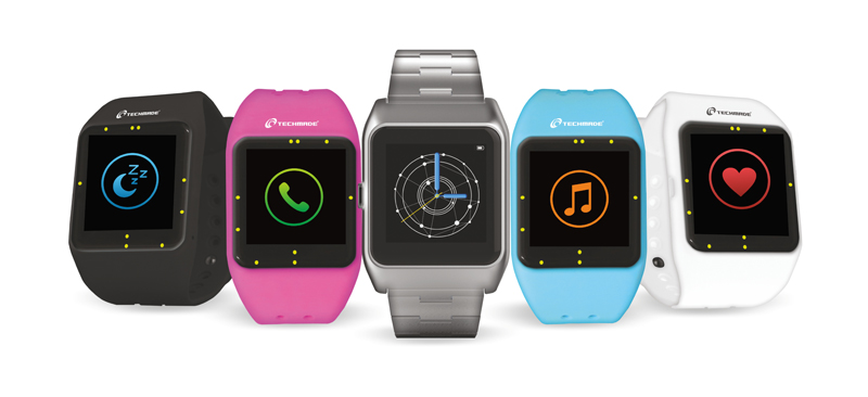 Techmade TechWatch ONE Elite, smartwatch tutto italiano