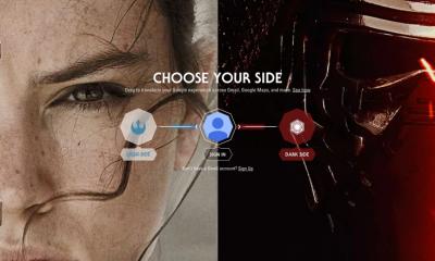 Google e Star Wars il risveglio della forza, scegli il tuo lato