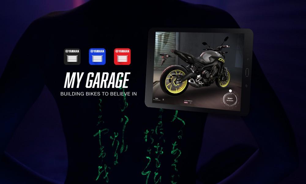 Yamaha my garage l 39 app per progettare in 3d la moto perfetta for App per progettare