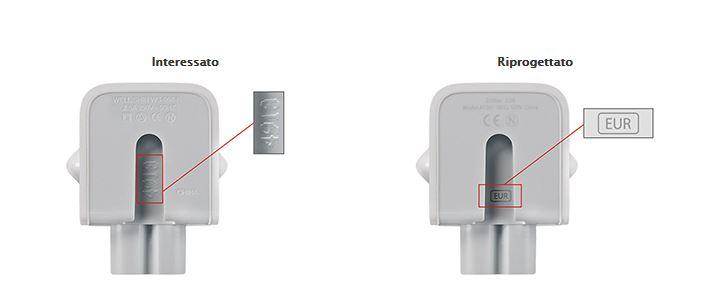 Apple: adattatori difettosi, rischio scossa, ecco quali sono