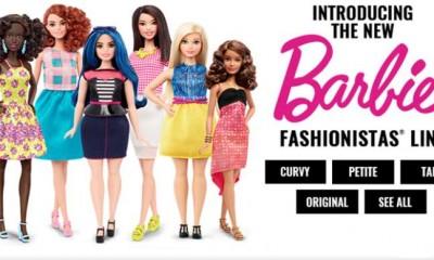 """Nasce Barbie """"umana"""", la bellezza rispecchia le vere donne"""