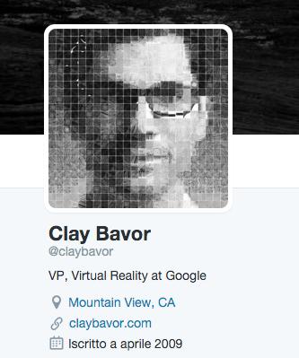 Clay Bavor è il nuovo responsabile per la realtà virtuale in Google