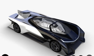 Faraday Future l'incredibile concept dell'auto del futuro