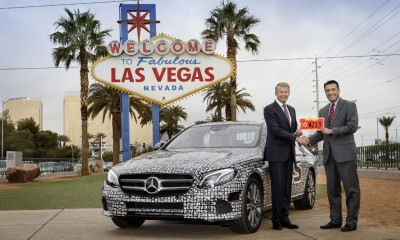 Mercedes-Benz Classe E a guida autonoma al via i test in Nevada