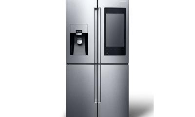 """Samsung: ecco il frigorifero con display da 21.5"""" e telecamera"""