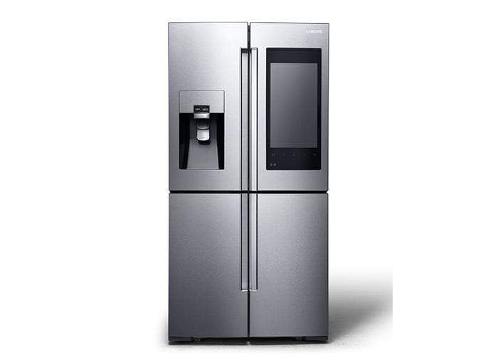 Samsung ecco il frigorifero con display da 21 5 39 39 e - Frigorifero da camera ...
