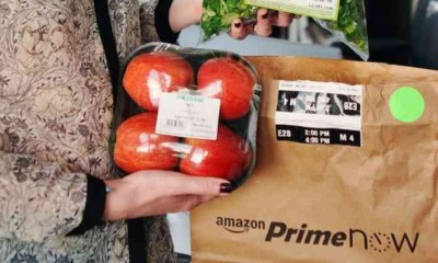 Amazon Prime Now rilancia, i prodotti dell'orto a casa in un'ora