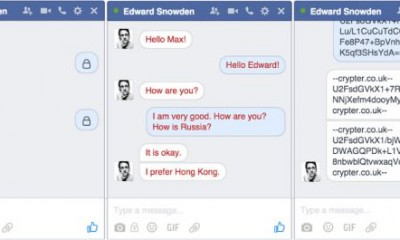 Crypter: chat segrete con Facebook Messenger