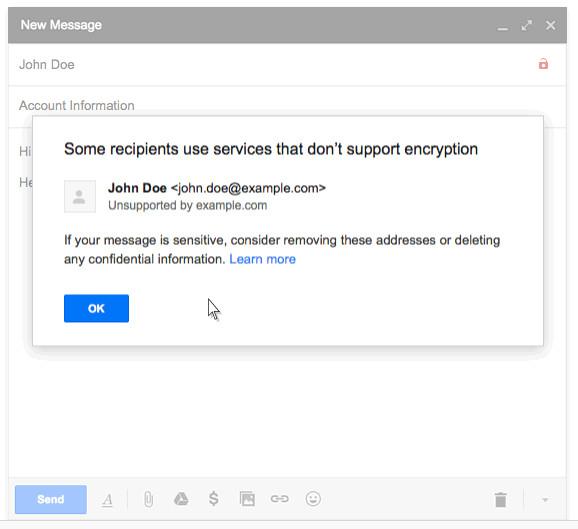 Gmail sicurezza