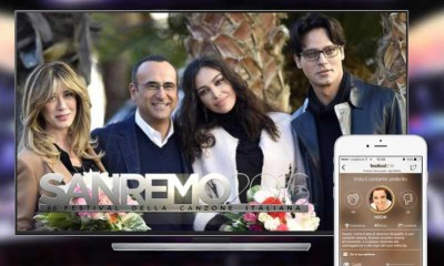 Sanremo, pagelle ai big in real time con l'App Festival 2016