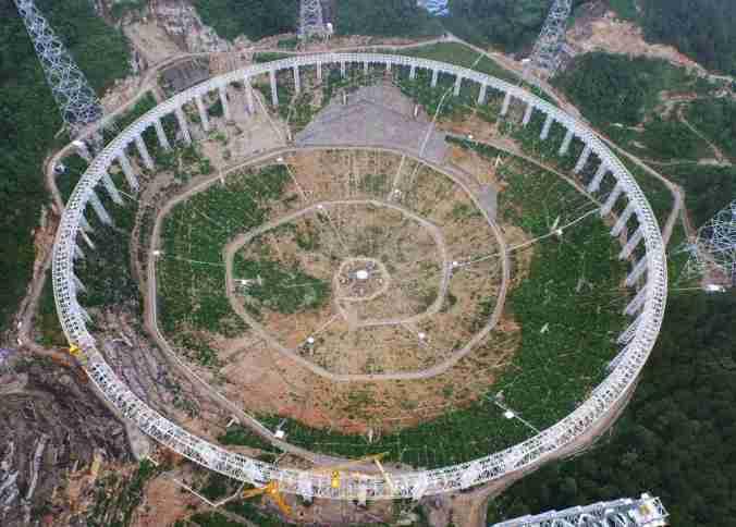 Cina, 9mila sgomberi per inaugurare il mega telescopio FAST