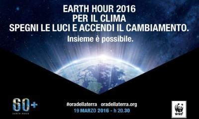 Earth Hour, il 19 marzo tutti al buio per amore della Terra