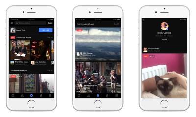 Facebook: il nuovo motore di ricerca trova filmati e streaming live