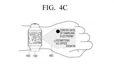 Samsung, uno smartwatch con proiettore tra i progetti futuri?