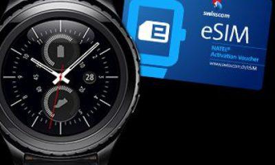 Swisscom, arriva il primo smartwatch Samsung con eSIM!