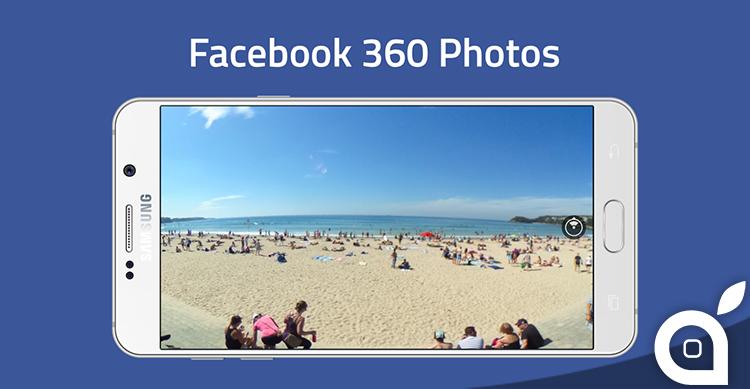 Facebook: arrivano le foto a 360 gradi