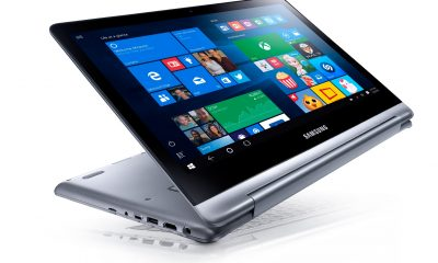 Samsung 7 Spin, nuovo notebook convertibile con a bordo Windows 10