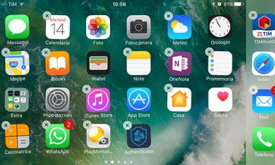 iOS 10: si potranno eliminare le app preinstallate Apple