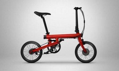 Xiaomi Mi QiCycle, la nuova bicicletta smart urbana elettronica e pieghevole