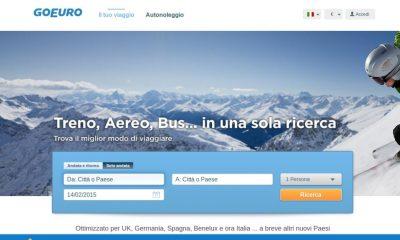 GoEuro è l'app per le vacanze, organizza il tuo viaggio con un click