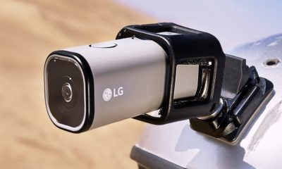 LG action cam LTE, videocamera di qualità pronta per lo streaming YouTube