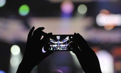 iPhone bloccato da un sensore durante i concerti