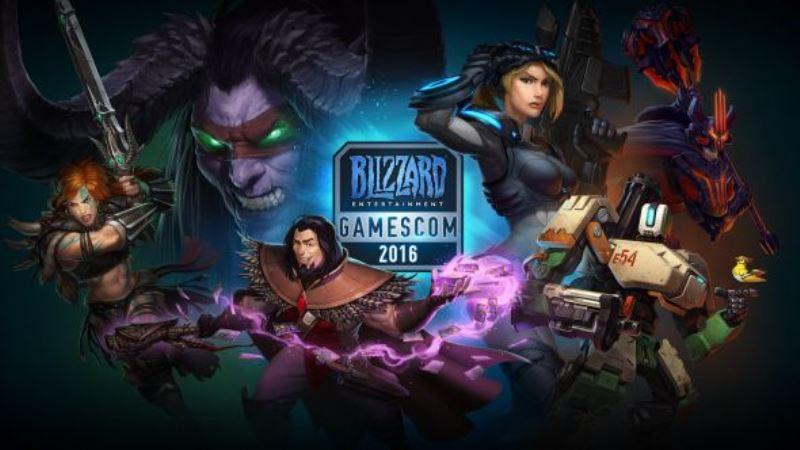 Gamescom 2016, le novità annunciate da Blizzard