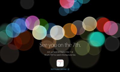 Apple, cosa aspettarsi dall'evento del 7 settembre