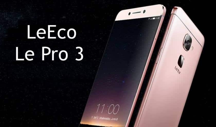 LeEco Le Pro 3 ufficiale: ecco il primo Android senza Jack Audio