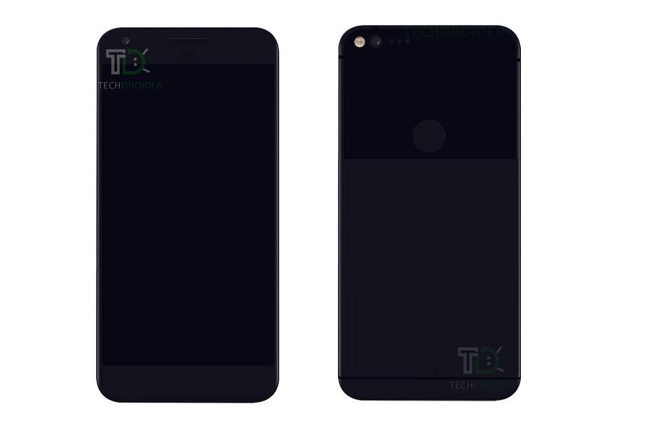 Google Pixel e Google Pixel XL: arrivano nuovi render per i due top di gamma Android