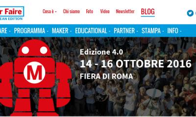 Maker Faire Rome 2016, torna la fiera europea dell'innovazione