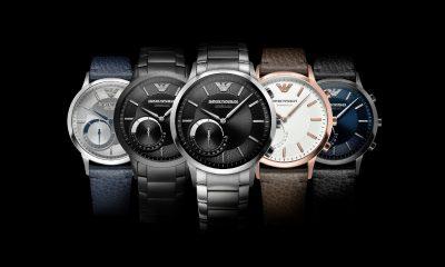 Emporio Armani lancia Connected, la sua linea di smartwatch