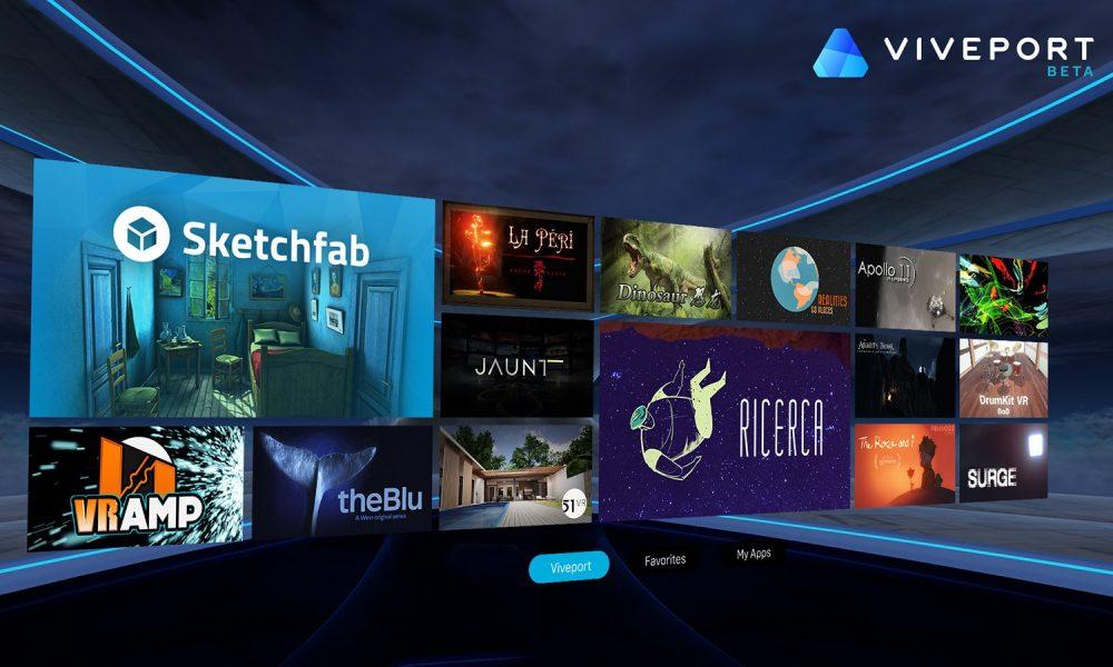 HTC Viveport, il nuovo store per la realtà virtuale studiato per HTC Vive