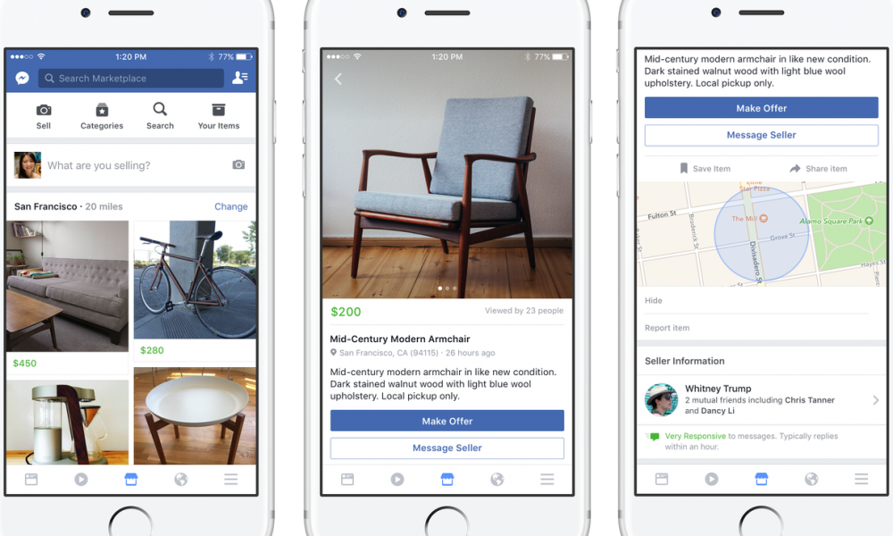 Facebook Marketplace: Mark Zuckerberg lancia il suo e-commerce