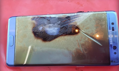 Samsung: stop alle vendite di Galaxy Note 7 e crollo in borsa