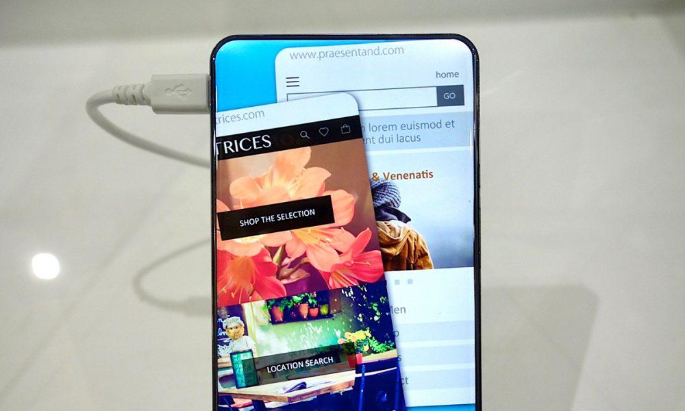 Sharp Corner R, nuovo smartphone concept senza cornici e bordi arrotondati
