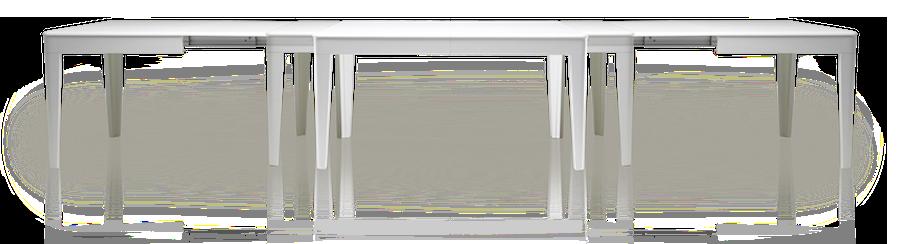 Tavolo Allungabile Fino 4 Metri.Exten Tavoli Allungabili Smart Made In Italy