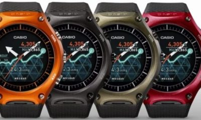Casio Smart Outdoor Watch: arriva il nuovo smartwatch Android Wear multifunzione
