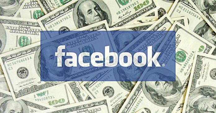 Facebook utili ricavi