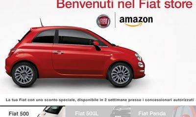 Fiat 500, ora si compra su Amazon