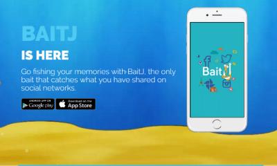 BaitJ, l'applicazione social che pesca i ricordi