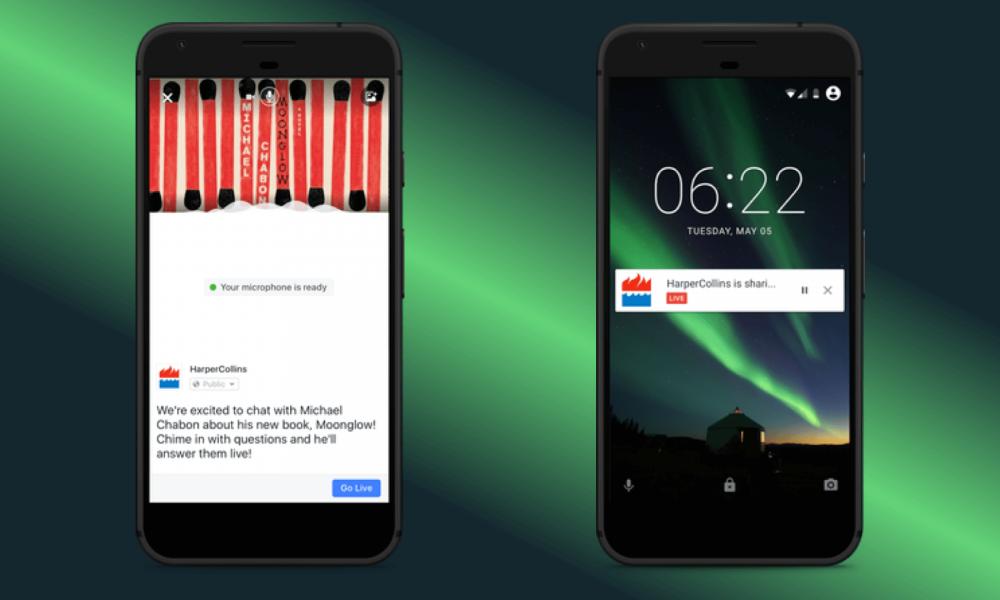 Facebook diventa una radio con Live Audio: come funziona